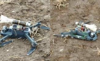 Ağrı Tendürekte PKK'nın Bomba Yüklü Dronesi imha edildi