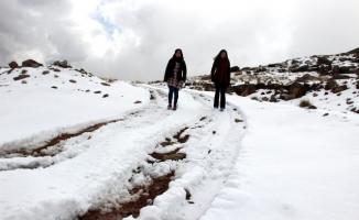 Doğu Anadolu Bölgesi'nde  Kar Yağışları Etkisini Arttırıyor