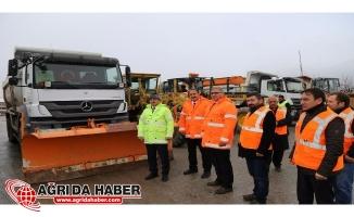 Erzincan Belediyesi Kışa Hazırlıklarını Bitirdi