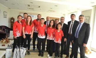 Erzurum Gençlik Hizmetleri ve Spor İl Müdürlüğünden Örnek Davranış
