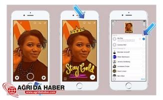 Facebook Snapchat'tan Kopya Almaya Devam Ediyor !