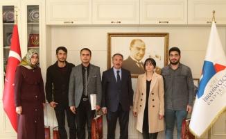 YÖK'ten Ağrı İbrahim Çeçen Üniversitesi Öğrencilerine Kutlama Mektubu