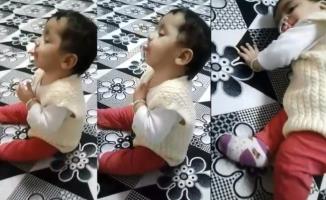 Ağrı'da Kendi Kendini Uyutan Bebek Sosyal Medya Fenomeni Oldu