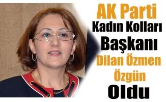 Ak Parti Ağrı Kadın Kolları Başkanı Değişti