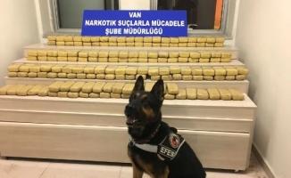 Van'da Uyuşturucu Operasyonu: 81 Kilo 920 gram Eroin Ele Geçirildi