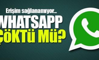 WhatsApp Çöktü! Kullanıcıların Dikkatine