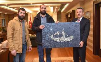Yeşilay Ağrı Şubesinden Ağrı Valisi Süleyman Elban'a Ziyaret