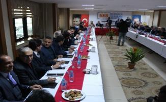 """Ağrı'da """"Şehirlerin Ekonomik Beklentileri"""" (ŞEB) Forumu düzenlendi"""