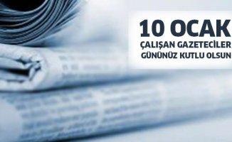 Ağrı Protokolü'nden 10 Ocak Dünya Çalışan Gazeteciler Günü Mesajları