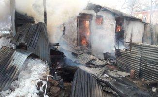 Bingöl'de 33 hayvan yanarak telef oldu