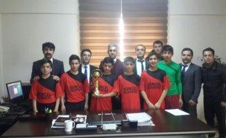 Hamur YBO Futsal'da Ağrı İl Birincisi