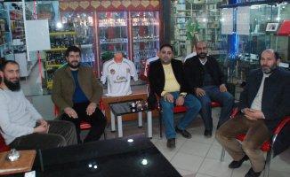 HÜDAPAR'dan Ağrı'da Basın kuruluşlarına ziyaret