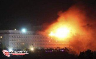 Kabil'de Otele Silahlı Saldırı : Çok Sayıda Yaralı Var !