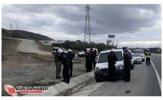 Kaza Yapan Polisler Ölümden Döndü