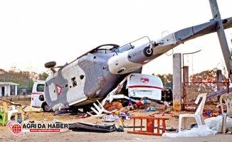 7.2 Şiddetin'de Deprem'de Bakan'ın Helikopteri Düştü