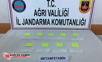 Ağrı'da Petrolde bulunan karton sigaranın içinde 504 gram Metamfetamin çıktı!