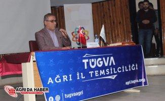 Ağrı Tügva'dan ''Zeytin Dalı'' Konferansı