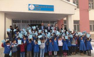 Ağrı'da Okul Sütü Dağıtımı Devam Ediyor