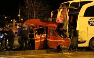 Ağrı'dan İstanbul'a Giden Otobüs Kaza Yaptı: 1 Ölü 4 Yaralı!