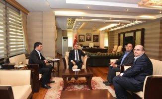 Ağrı Mali Müşavirler Derneği'nden Vali Elban'a Çözüm Önerisi Ziyareti
