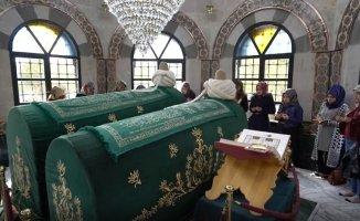 Erzincan'ın manevi önderleri öğrencilere tanıtıldı