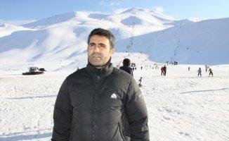 Hesarek Kayak Merkezini 1 ayda 45 bin kişi ziyaret etti