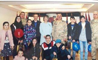 Kent Konseyi Çocuk Meclisi'nden Jandarma Bölge Komutanlığına ziyaret
