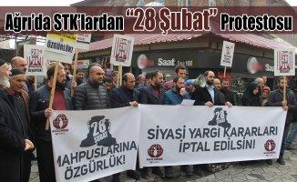 """Mazlumder Ağrı Şubesi: """"28 Şubat Zulmü Son Bulsun!"""""""