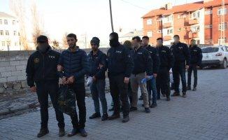 Patnos'ta terör operasyonu: 8 kişi tutuklandı