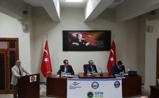 """Tunceli'de """"Sıfır Atık"""" toplantısı"""