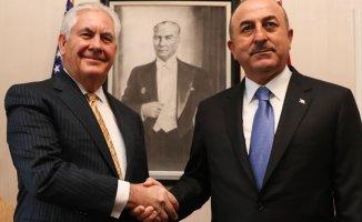 Türkiye ve ABD Dışişleri Bakanları Birarada