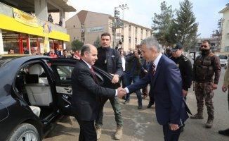 Vali Aktaş Cizre'de incelemelerde bulundu