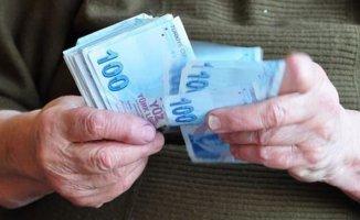 Zamdan Sonra Emekliye en az 570 Lira
