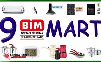 9 Mart Bim Aktüel Ürünler Kataloğu (9 Mart'tan itibaren)
