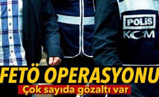 Ağrı Merkezli 16 İlde Fetö/pdy Operasyonu: 37 Gözaltı