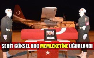 Ağrı Şehit Jandarma Uzman Çavuş Göksel Koç'u Törenle Uğurladı