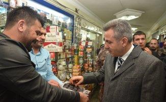 Ağrı Valisi süleyman Elban, Doğubayazıt İlçesini ziyaret etti