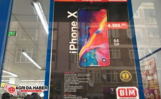 Bim'den Flaş İlan! IPhone X'i yüzde 18 indirimli satacak