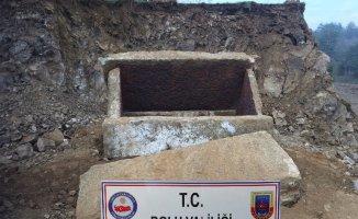 Bolu'da inşaat kazısında 2 bin yıllık mezar bulundu