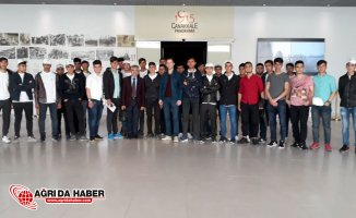 Doğubayazıtlı Gençler Başakşehir-Beşiktaş Müsabakasını İzledi