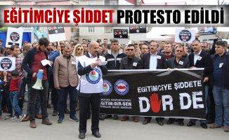 Eğitim-Bir-Sen Ağrı Şubesinden Patnos'ta Basın açıklaması