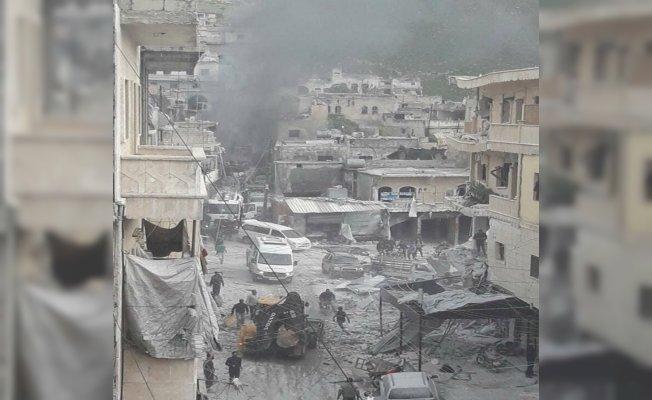 İdlib'de hava saldırısı: 20 ölü