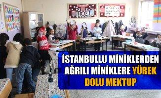İstanbullu Miniklerden Ağrılı Miniklere Mektup