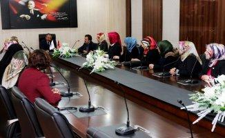 Kadın STK Temsilcilerinden Rektör Karabulut'a Ziyaret