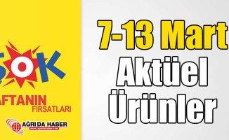 Şok 7-13 Mart Aktüel Ürünler Kataloğu Şok İndirimli Ürünleri