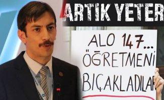 Türk Eğitim-Sen Ağrı Şube Başkanı Erhan Kılıç'tan Öğretmene şiddet tepki