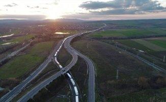Türkiye Bulgaristan sınırında kilometrelerce tır kuyruğu oluştu