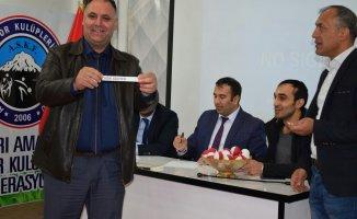 Ağrı'da 8. Kurumlar Arası Futbol Ligi Kuraları Çekildi