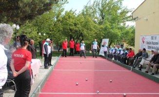 Ağrı ve Erzincan Huzurevi Sakinleri Arasında Bocce Turnuvası