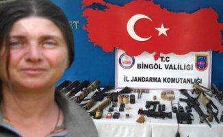 Gri listede aranan Kadın Terörist Öldürüldü